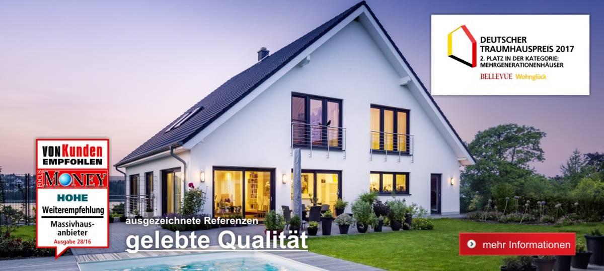 FAVORIT Massivhaus – Deutscher Traumhaus Preis